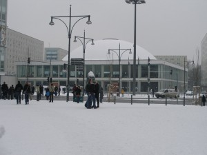 BCC with snow